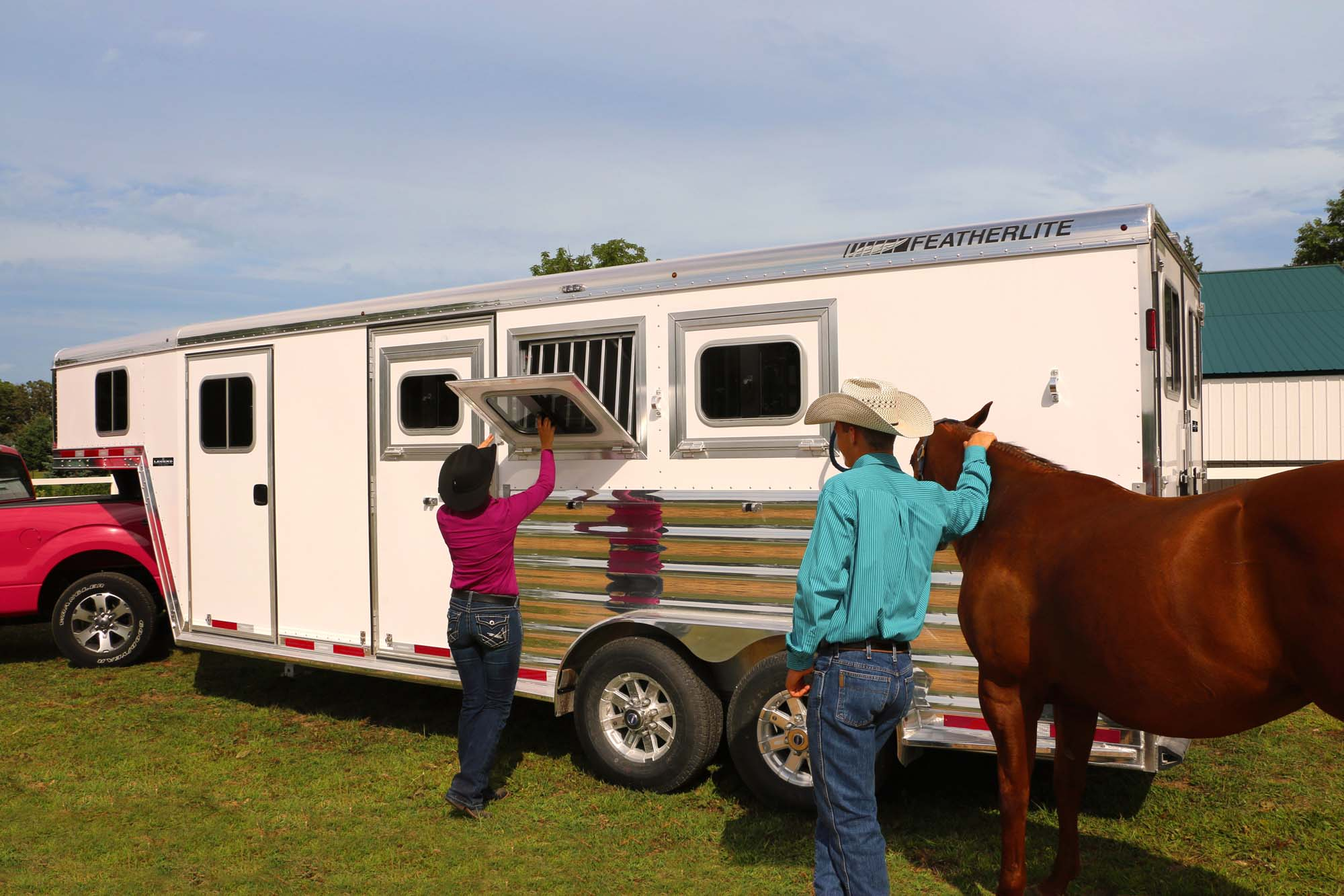 Featherlite Horse Trailers